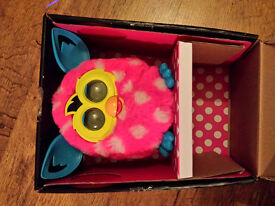 Firby Boom Pink with white spots with box