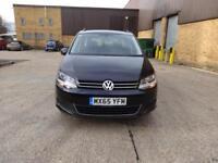 Volkswagen Sharan SE TDi Dsg (black) 2015