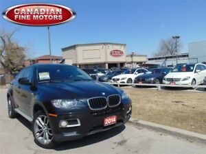 2014 BMW X6 5 PASS-NAVI-360 CAM-CLEAN CARPROOF