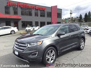 2016 Ford Edge Titanium w/nav,leather, roof