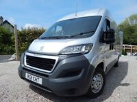 Peugeot Boxer Professional 2.2hdi LWB ONLY 16000 MILES 2016 Model