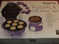 POPCAKE & FONDUE SET (New & Boxed)