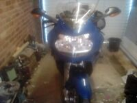 BMW K1200s on a55 plate
