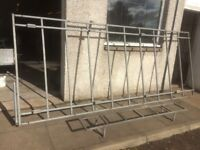 large galvanised roof rack
