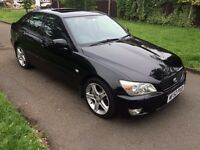 Lexus IS 200 2.0 SE,SAT NAV, AUTOMATICE, 6 MONTHS FREE WARRANTY, LEATHER SEATS, FULL SERVICE BOOK
