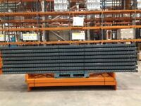 job lot dexion pallet racking 500 bays available AS NEW( storage , shelving )