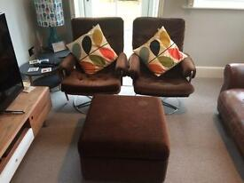 Original Retro Chairs and Storage Tool