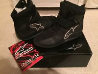 Alpinestar Motorcycle Boots - Waterproof - Size 7.5 / 41