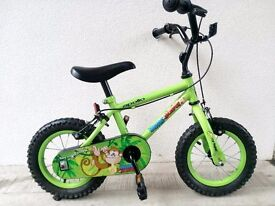 """(2540) 12"""" APOLLO Boys Girls Kids Childs Bike Bicycle+ STABILISERS Age: 2-4 Height: 85-100 cm"""