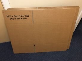 BRAND NEW DOUBLE WALL CARDBOARD POSTAL BOXES - MADE FROM RECYCLED PAPER