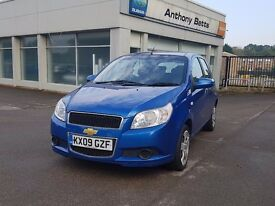 2009 Chevrolet Aveo,3 Months Warranty, AA Mechanical Report, Full History,Hpi Clear, 2195 Ono