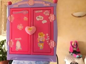 Build a bear wardrobe with soft toy