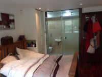 Double room with Ensuite in Flatshare with car parking space. Herne Hill/Brixton.