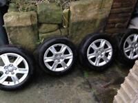 Audi A3 alloy wheels 205/55/16