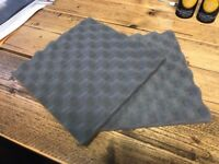 FOAM - Acoustic / Soundproofing / Protective Inserts - up to 6,000 available! - Sold in pairs
