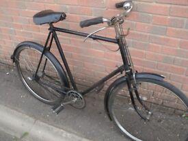Vintage Raleigh Gents Bike 1940/50s