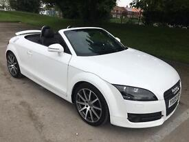 2009 09 PLATE AUDI TT 2.0 TFSI ROADSTER 6 SPEED MANUAL, 69k MILES, 1 LADY OWNER FROM NEW