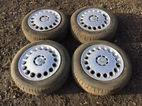 """Alfa Romeo 147 / 156 15"""" steel wheels and excellent tyres"""