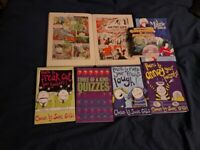 Poetry , comics and quiz books for children : £ 2