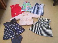 Girls Clothes Bundle - 9-12 months (6 items)