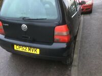 VW LUPO SPARES OR REPAIR MANY GOOD PARTS RUNNER