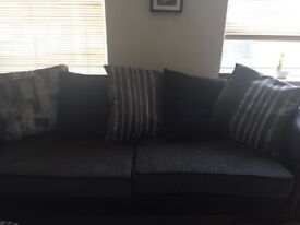 Sale- 2 DFS sofas and a fridge in Beeston