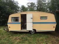 Thomson's (Carron) Falkirk, Glenmore vintage caravan, quirky, retro £3500 ONO