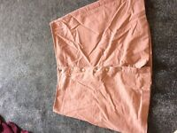 Pink skirt size 14