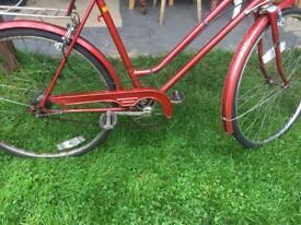 Retro Ladies Bike