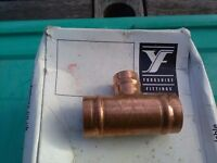 YORKSHIRE PLUMBING OR HEATING COPPER FITTINGS