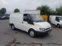 ford transit swb low roof with low mileage