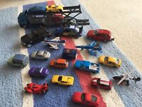 Vehicles and play-mat