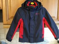 Mountain warehouse winter jacket with fleece age 5-6 fab condition