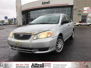 2005 Toyota Corolla CE. Keyless Entry, Air Conditioning, Power M