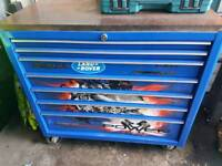 Snap on limited edition toolbox with decals
