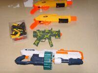 NERF XSHOT Machnie Guns Minigun set in VGC