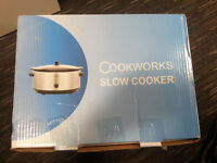 Brand new base and lid of Slow cooker
