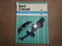 Ford Corsair service / maintenance book
