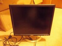 Dell monitor and keyboard for sale