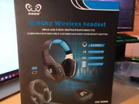 Wireless Gaming Headset for PS4, PS3, Xbox360, PC