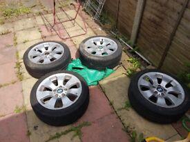 Bmw 318d alloy wheels