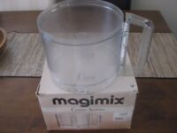 MAGIMIX CUISINE 5100 FOOD PROCESSOR MIXING BOWL (WITHOUT LID). USED, WITH BOX
