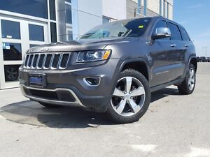 2015 Jeep Grand Cherokee Limited 4WD *Leather/Sunroof/Nav