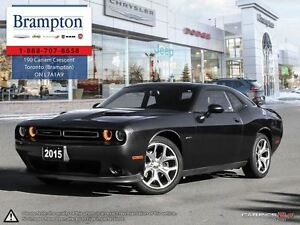 2015 Dodge Challenger R/T|Leather Heated Seats|NAV|Sunroof|Alloy
