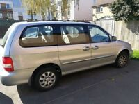 BEST OFFER Kia sedona, automatic, spares or repairs, please read advert