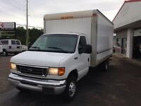 2004 Ford E350 16 foot cube van certified and wrested super ...