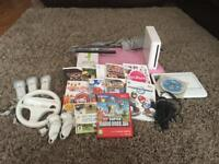 Wii Console Bundle, Wii fit, accessories & games!!!