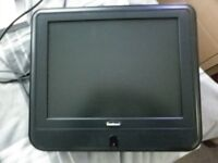 "Goodmans 15"" Wall Mounted TV with Remote."
