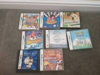 Nintendo DS Lite and games bundle