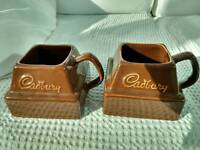 2 CADBURY CHOCOLATE MUGS